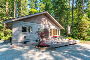 Newer home with private beach access