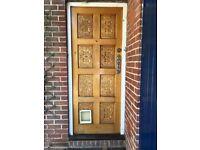 1970's Oak Front Door