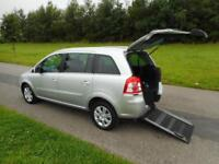 2013 Vauxhall Zafira Design 1.7CDTi, ecoFLEX. Manual. ONLY 28K. WHEELCHAIR WAV