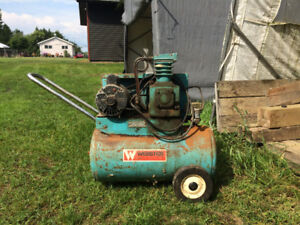 For sale Webster aircompressor