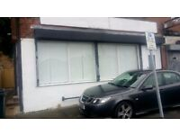 Shop/Office to let in Leeds 16 Next to Horsforth railway station, bills inc
