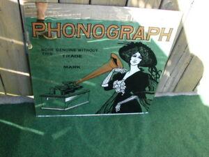 For sale Mirror phonograph Edison Mirror