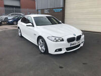 2016 66 BMW 520 2.0 TD M-SPORT 190 BHP AUTOMATIC,ONLY 4500 MILES WARRANTED,