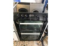 Belling ceramic electric cooker 60cm black and silver everything perfect working for sale