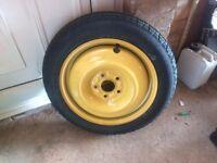 Honda civic type r spare wheel/space saver