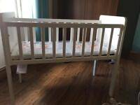 Mothercare crib & mattress