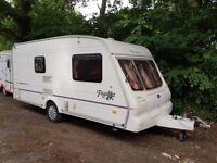 Bailey Pageant Monarch 2 berth caravan Awning, VGC, Bargain !