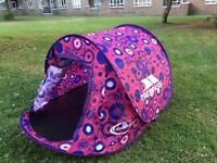 SWIFT 200 PATTERNED 2 Man Pop Up Tent Trespass