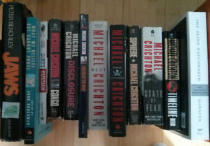 Lot of fiction and nonfiction books, best offer