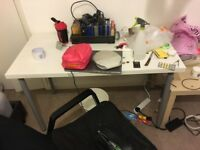 Ikea desk , free , used