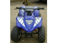 QUADS MOTORBIKES PIT BIKES NON RUNNERS SPARES OR REPAIRS WANTED