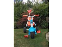 Little tikes push along tricycle