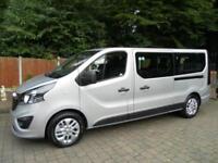 2016 Vauxhall Vivaro 125ps Ecoflex BiTurbo 9 Seats Wheelchair Access Minibus LWB