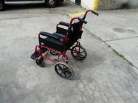 Lomax attendant wheelchair