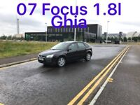 £875 2007 Ford Focus Ghia 1.8l* like ASTRA MEGANE CIVIC GOLF MONDEO VECTRA PASSAT