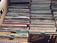 Collection of 7 inch vinyls