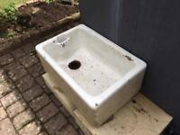 Butler sink, ideal garden planter