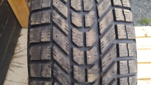 Winter Tires- Used- P265/70R17