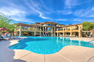 North Scottsdale Vacation Condo Rental 2 bed/2 bath Resort Pool