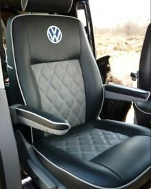 LEATHER SEATCOVERS FOR VOLKSWAGEN SHARON VW SHARAN