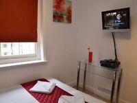 Double studio Paddington Short Lets £85 per night all bills and WIFI