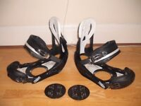 BURTON CUSTOM SNOWBOARD BINDINGS SIZE LARGE