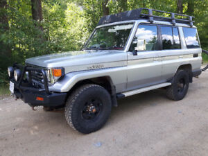 1991 Toyota Land Cruiser PZJ77 w/1HD-T & H55F 5spd