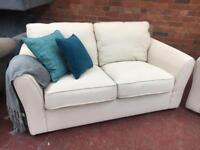 DFS New Cream 2 Seater Sofa - Can Deliver
