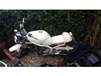 suzuki xj 600 runs and rides but selling as a project
