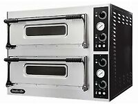 Never Used Foodsville 4+4 Stone Deck Electric Pizza Ovens Hire It/Buy It Using Easy Payments