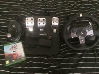 Racing wheel for Xbox One & PC