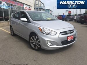 2017 Hyundai Accent | SE | ALLOYS | ROOF | HEATED SEATS | LOW KM