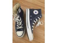 Adult size 4 Converse High Tops