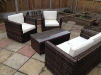 Rattan Garden Furniture Set Oseasons