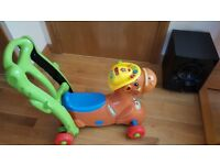Vtech sit on musical horse