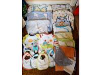 Boys grobags, towels and bibs