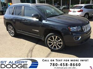 2015 Jeep Compass LIMITED | 4X4 | BACK CAM | HEAT LEATHER