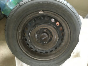 """15"""" summer tires with rims excellent condition"""
