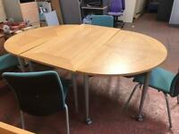 Conference Table & 4 Chairs Package
