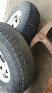 175 80R 13 - Trailer Tires USED for SPARE ONLY