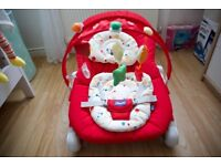 New Chicco Baby Bouncer