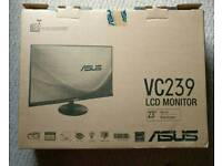 ASUS VC239H Monitor, FHD (1920x1080), IPS, Frameless, 23 inch - Black