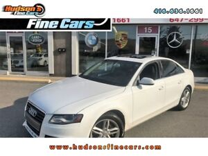 2010 Audi A4 2.0T Premium+LETHER+SUNROOF CERTIFIED