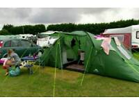6 man tent and equipment