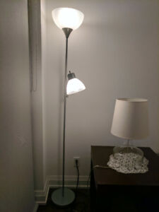 Floor Lamp, Like New Worth $120