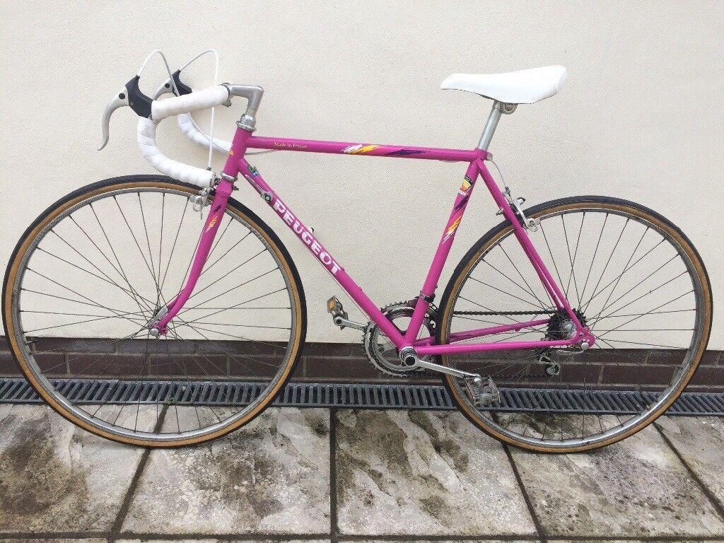 Peugeot Lautaret Pink Racer Classic 5 Speed Road Bike 50 Cm Frame