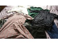 Maternity clothes bundle size 12-14 + other items