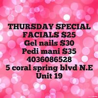 Thursday special offers