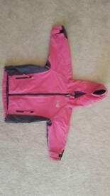 Kids Spotty Otter waterproof jacket size 3-4