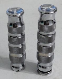 Arlen Ness chrome Grips for Victory Cross Country Motorcycle